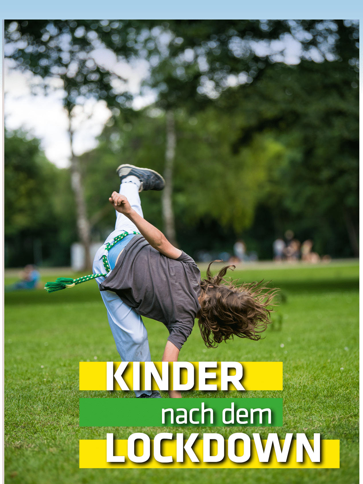 Kinder     nach dem LOCKDOW